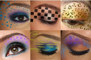 Trendy Tribals, inc  - Full Face and Hair Stencils - Eyes