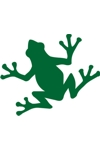 Sponge Painting Stencil- Frog