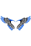 T22 Tribal Wing Large