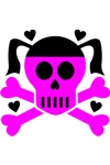 CLR Girly Skull 3
