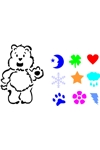 CLR Hug Bear Small